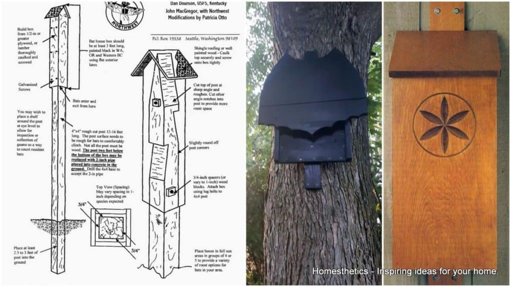 39 free diy bat house plans to shelter the natural pest Shelter house plans