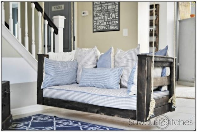THE RUSTIC PORCH SWING