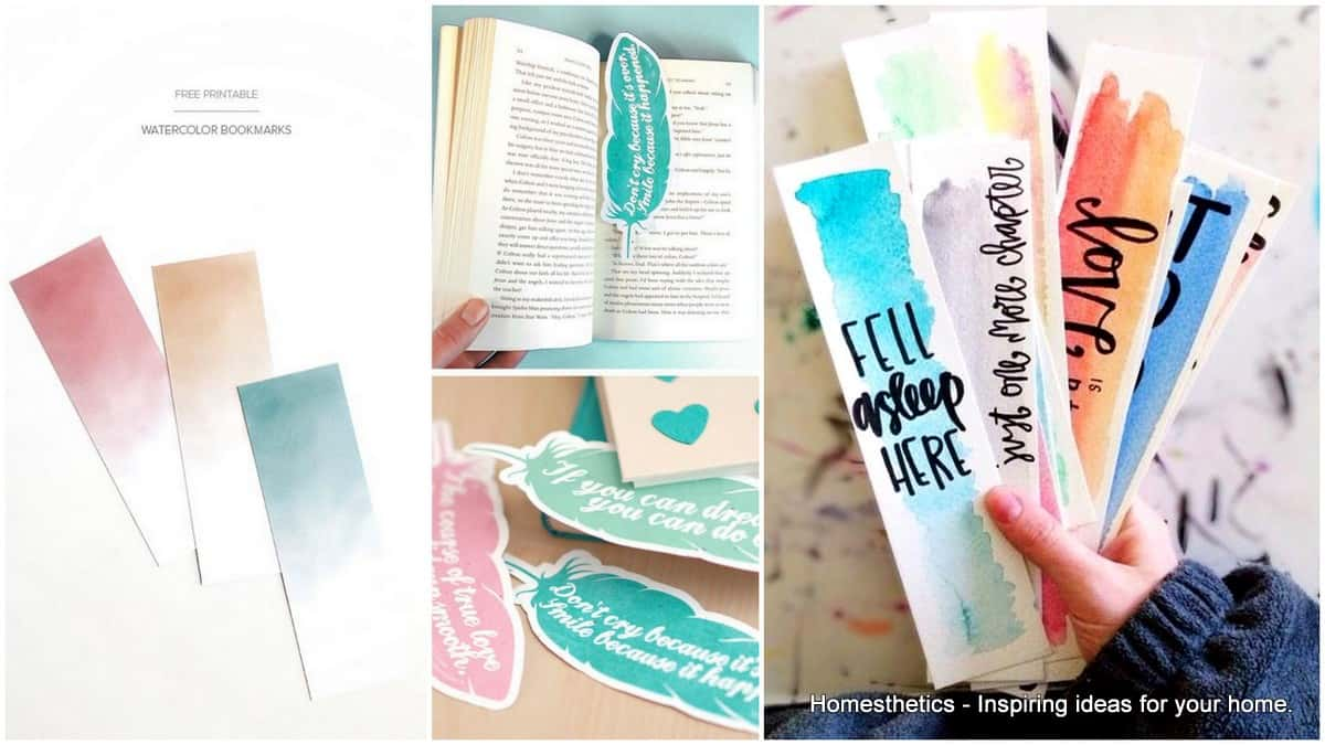 73 Cool Homemade Diy Bookmark Design Ideas For Reading