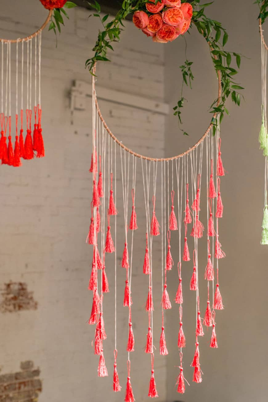 9.long tassles brilliantimagery 19 times flower hoops stole the show