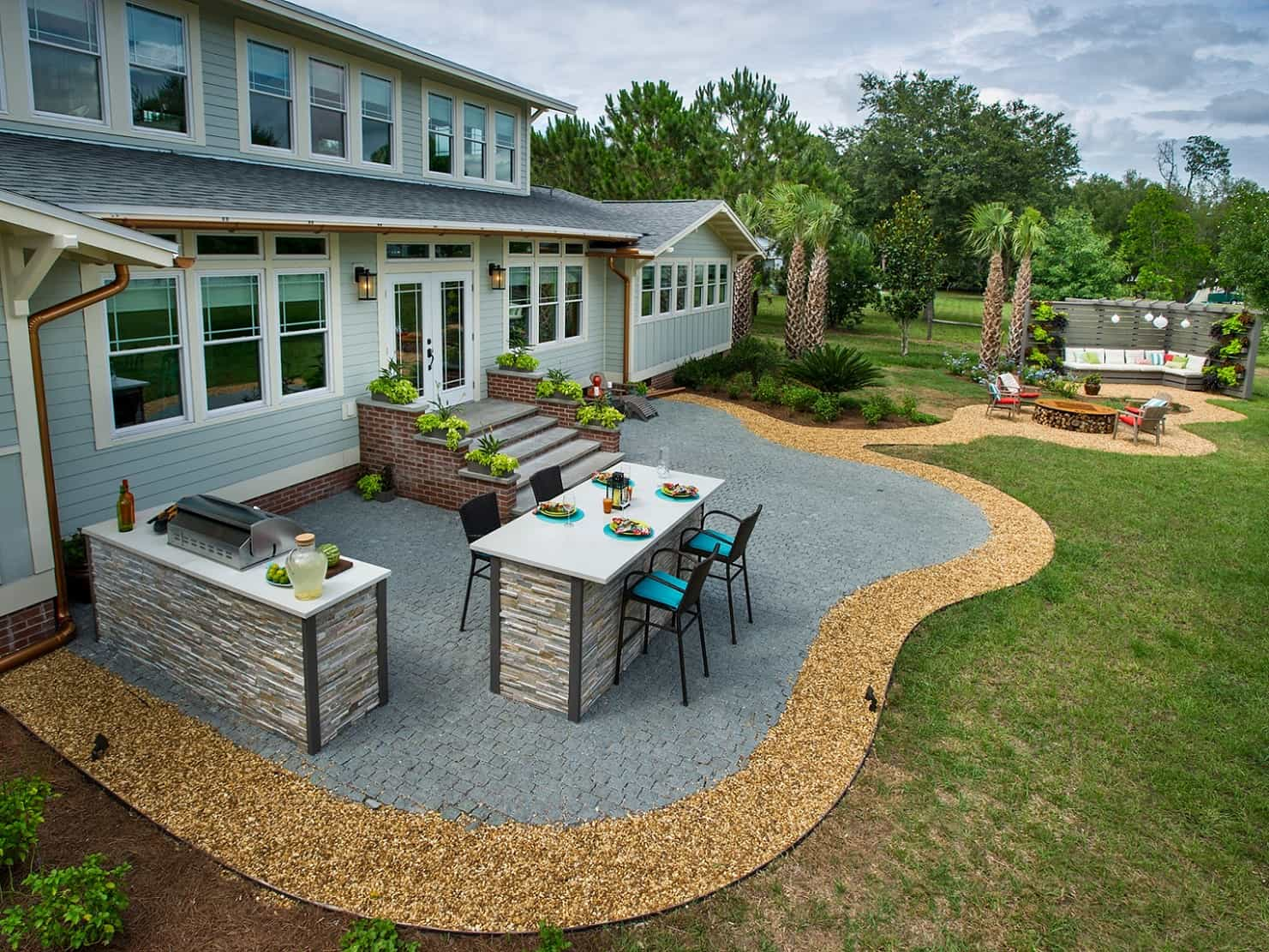 Fabulous Patios Designs That Will Leave You Speechless ... on Small Brick Patio Ideas id=44878