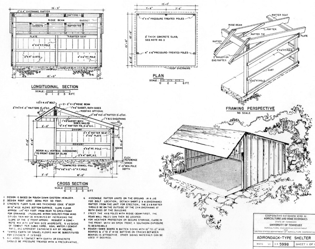 COMPREHENSIVE BARN PLANS