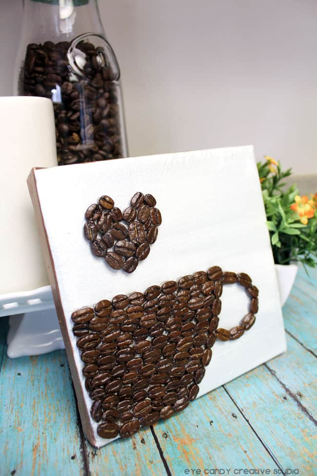16 stunning coffee bean crafts coffee lovers