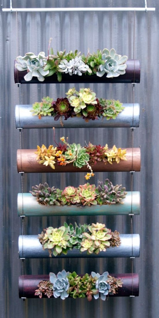 DIY PVC Gardening Ideas and Projects2