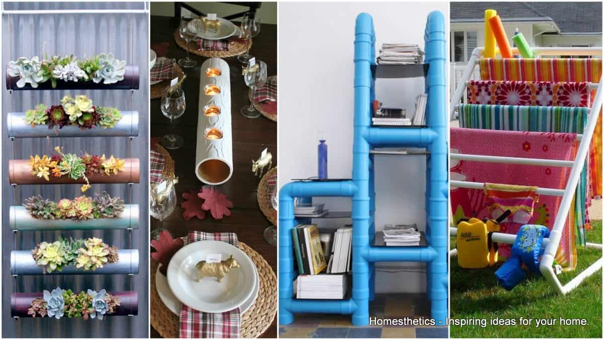 Amazing DIY PVC Pipes Projects That Will Blow Your Mind - Diy pvc pipe projects home