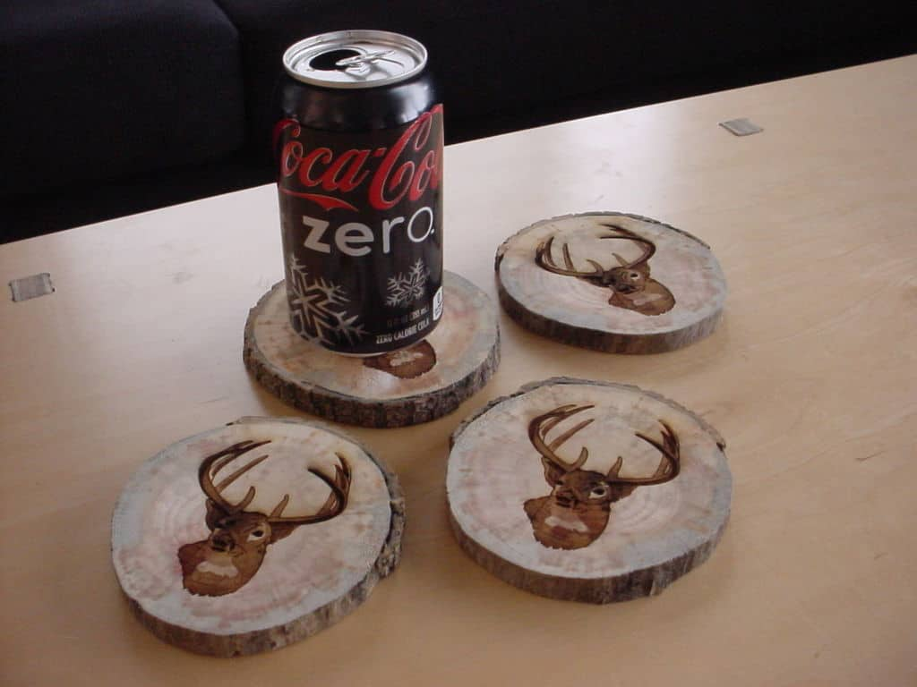 Cool Coasters Part - 22: 20 Adorable DIY Coasters That Are Easy To Make - Homesthetics - Inspiring  Ideas For Your Home.