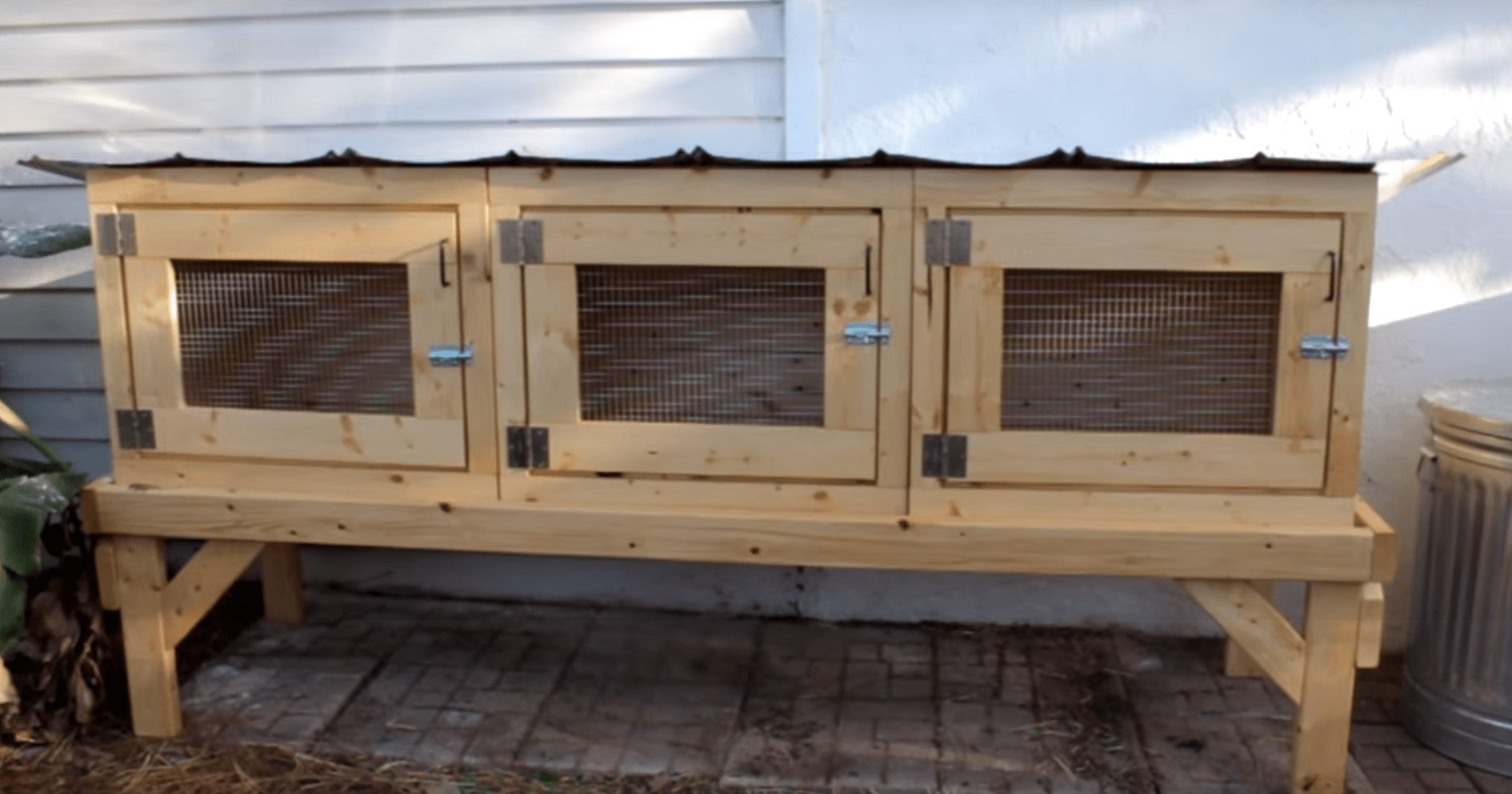13 Epic Free Rabbit Hutch Plans You Can Download Build Today