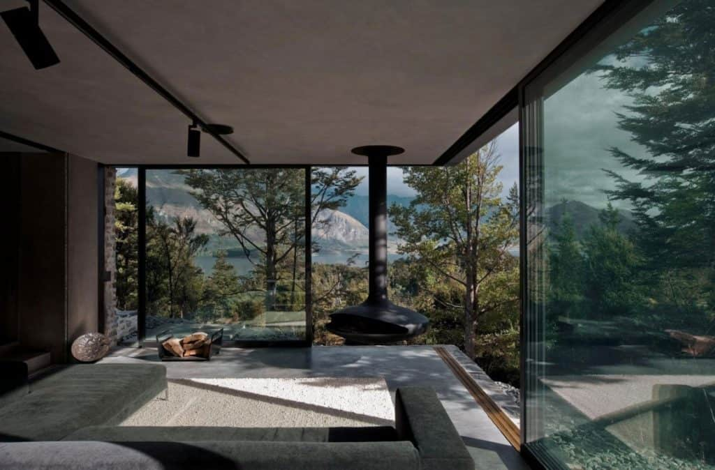 Mountain Retreat by Fearon Hay Architects Floor To Ceiling Windows