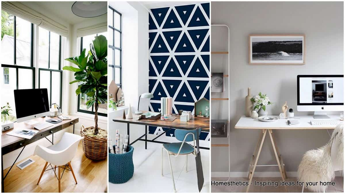 Stylish Scandinavian Home Offices That Will Make Your More Efficient