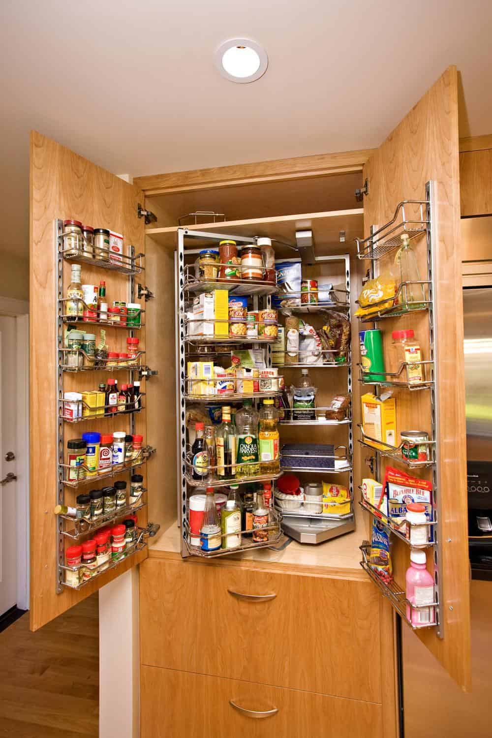 Stock Room Design: 19 Smart Kitchen Storage Ideas That Will Impress You