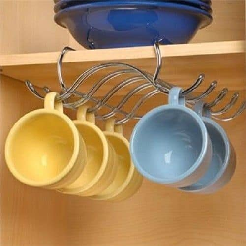 If You Are Too Lazy To Do A Project On Your Own, Then Go To The Store And  Look For This Type Of Mug Storage.