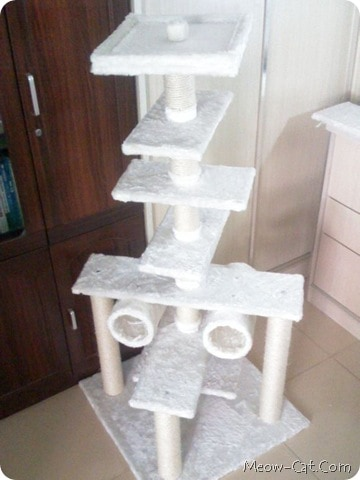 LUXURIOUS MULTI-LEVEL CAT TREE