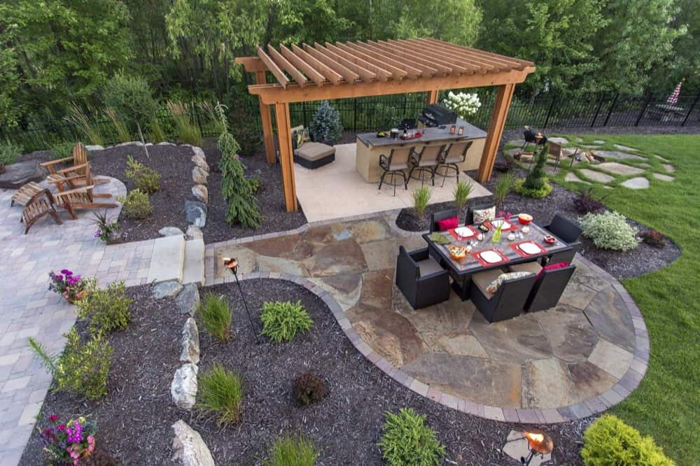 Fabulous Patios Designs That Will Leave You Speechless ... on Small Backyard Stone Patio Ideas id=91726