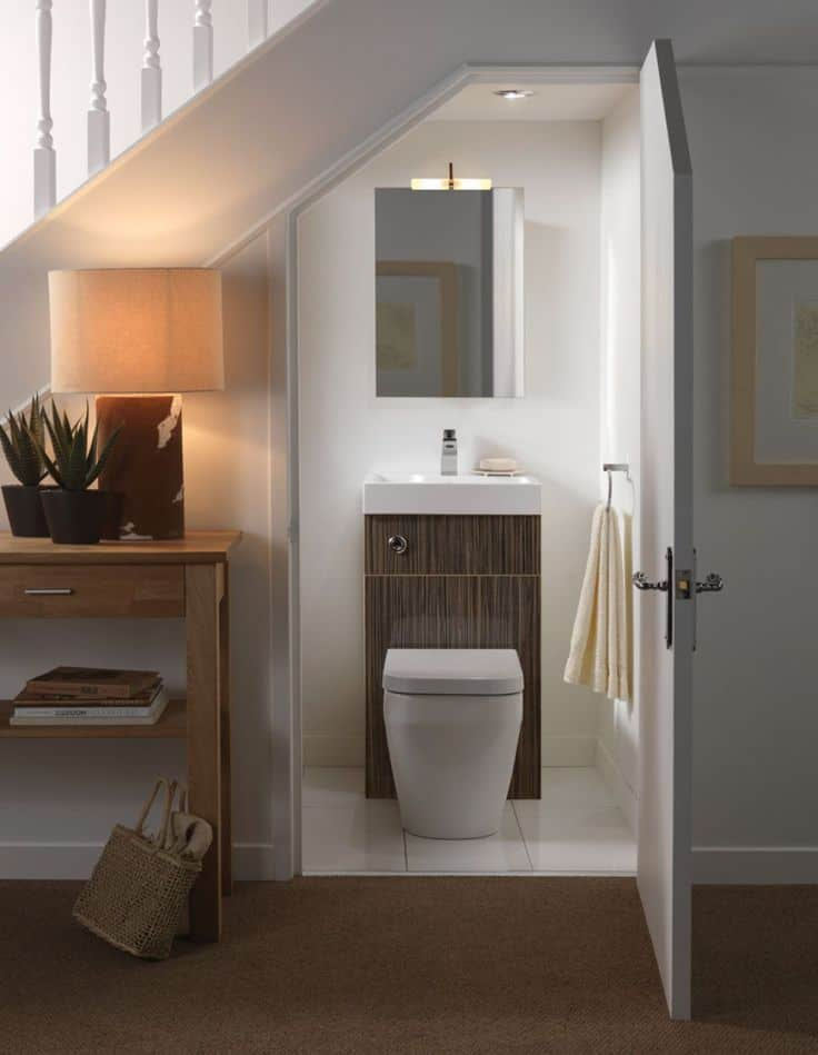 Lighting Basement Washroom Stairs: 15 Smart Under-The-Stairs Designs That Will Impress You
