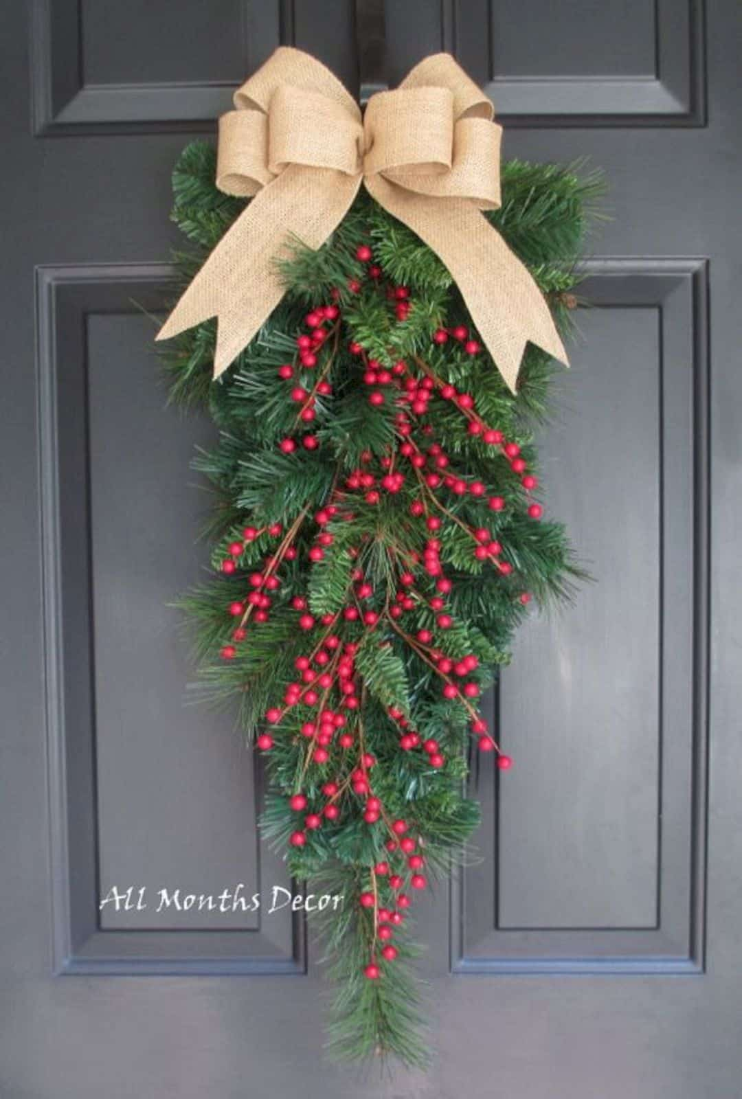 20 festive christmas wreaths that will bring joy to your home for 4 h decoration ideas