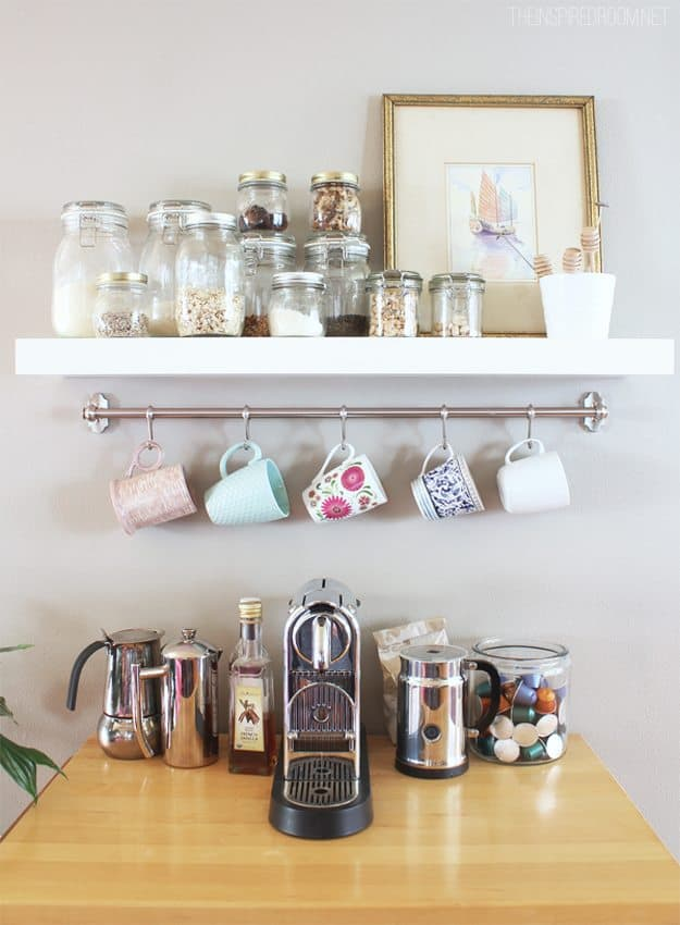 18 Ideas on How To Store Coffee Mugs in Your Decor Beautifully