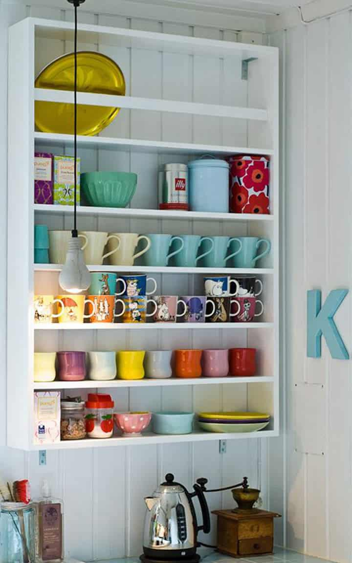 18 Ideas On How To Store Coffee Mugs In Your Decor