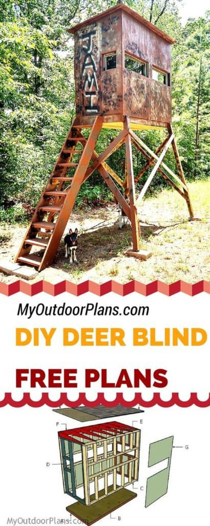 13. COOL DEER BOX STAND PLANS