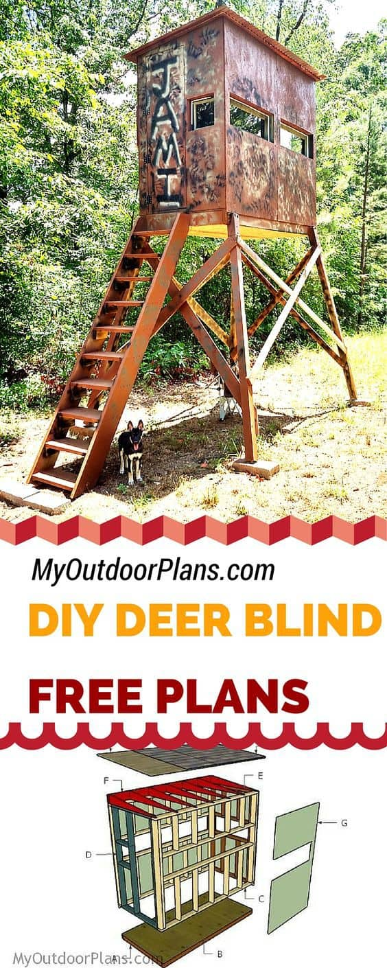 stand for build e how diy wooden pdf a boys mizelle to hunting wood tree blinds plans mail projects blind deer hilary in