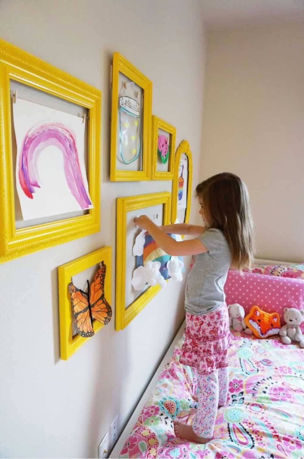 Do It Yourself Home Design: 17 Inspiring DIY Empty Frame Projects That Are Easy To