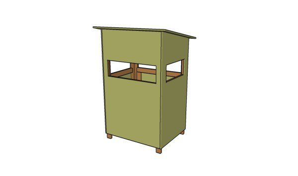 10. SIMPLE FREE DEER STAND DESIGN