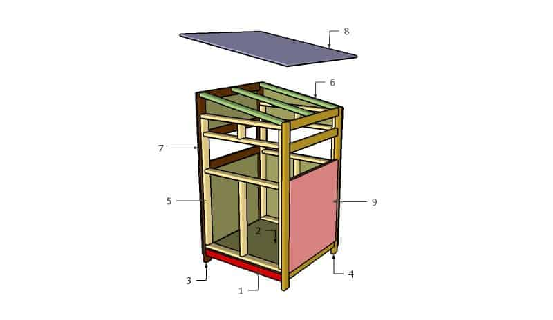 17. NEAT 4×4 DEER STAND PLANS