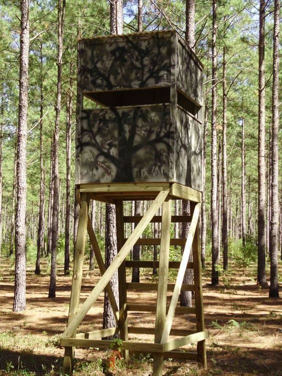 Deer Stand Window Designs : Awesome free deer stand plans you can start right now