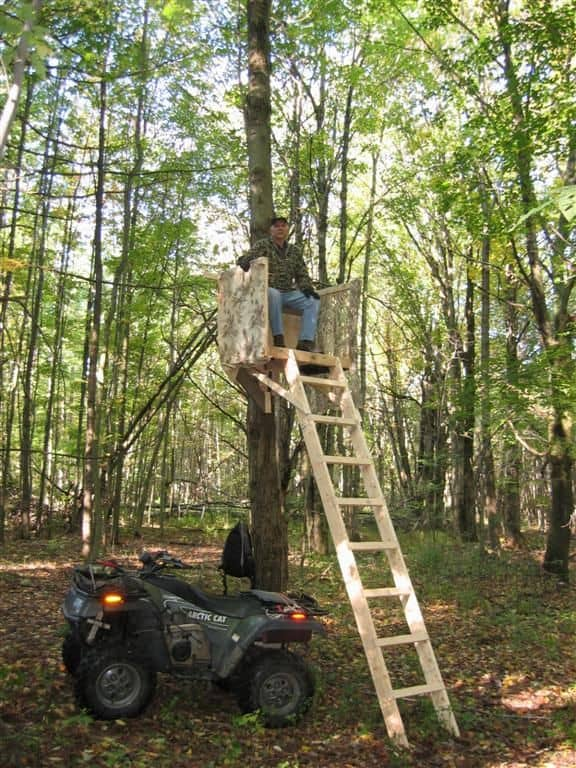 Tree Stand Designs Free : Awesome free deer stand plans you can start right now