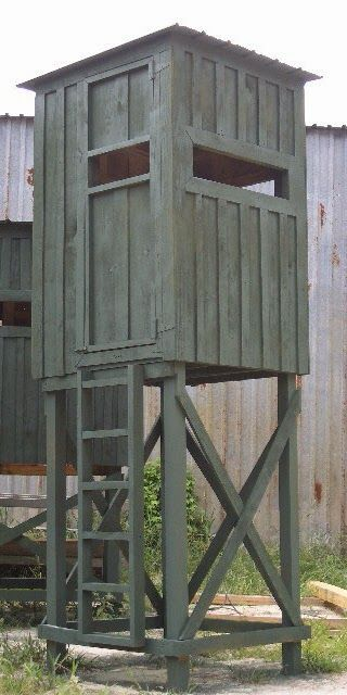 23 awesome free deer stand plans you can start right now for Inside deer blind ideas