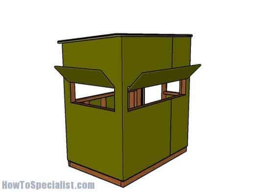 7. RAPID 4×6 SHOOTING HOUSE PLANS
