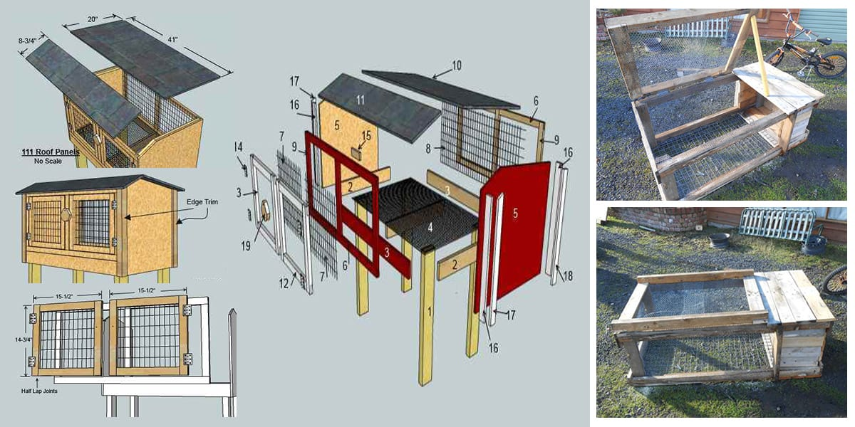 13 Epic Free Rabbit Hutch Plans You Can Download U0026 Build Today