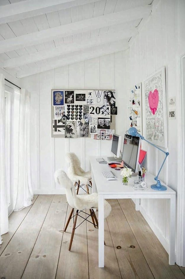 19 Stylish Scandinavian Home Offices That Will Make Your More Efficient