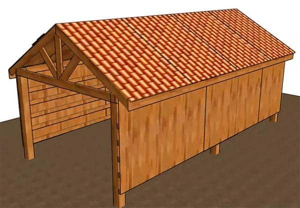 163 free pole shed pole barn building plans and designs for Build your own pole barn