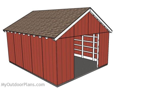 THE COSY POLE BARN PLANS