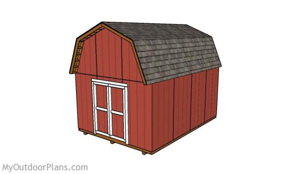 THE SMALL BARN SHED PLAN