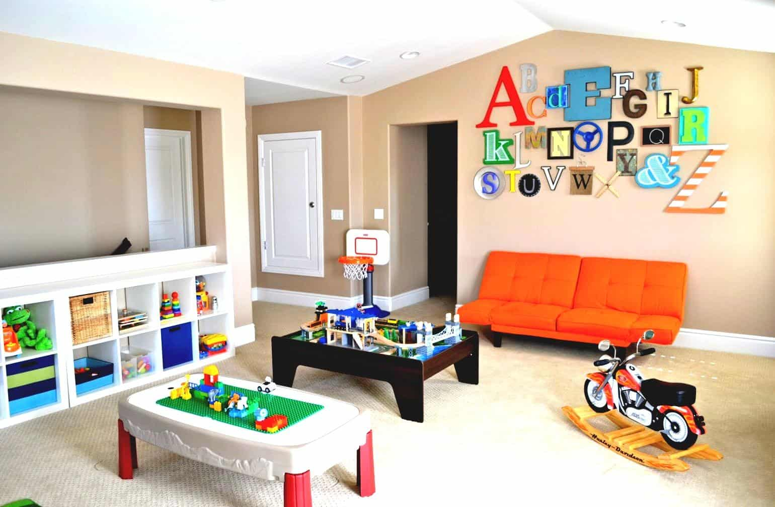kids basement design ideas cabinetry systems