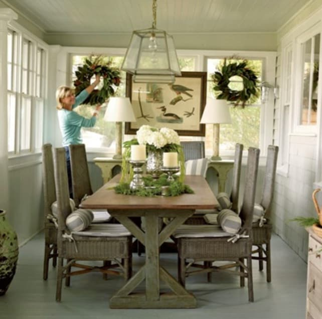 Dining Room Art: 20 Splendid Rustic Dining Rooms That Will Inspire You