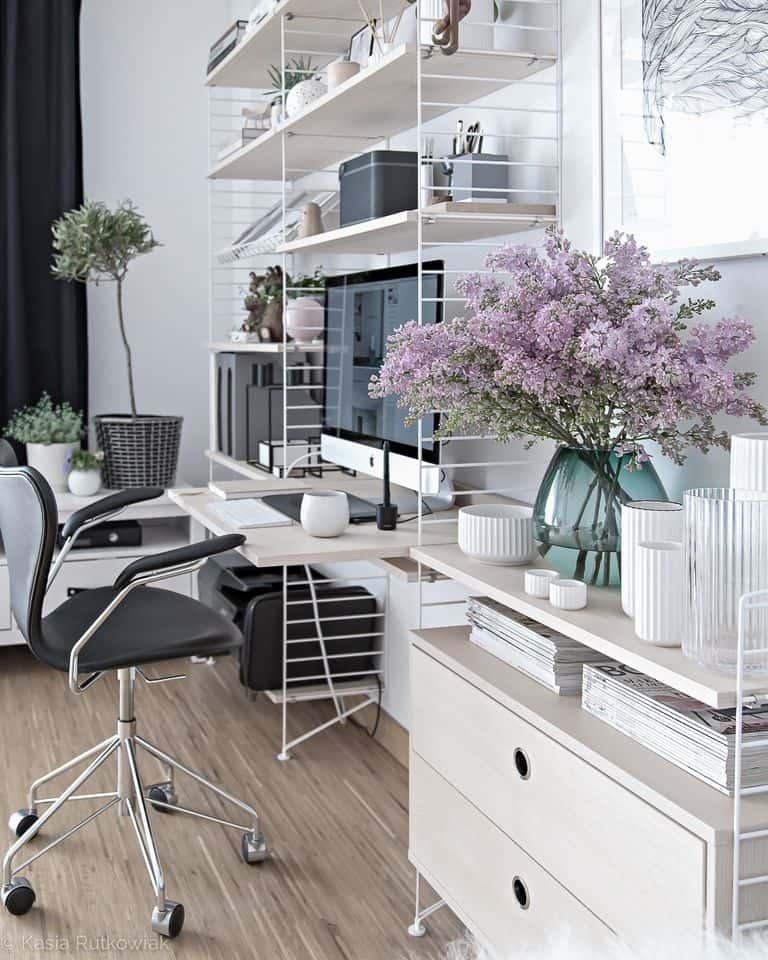 22 Scandinavian Home Office Designs Decorating Ideas: 19 Stylish Scandinavian Home Offices That Will Make Your