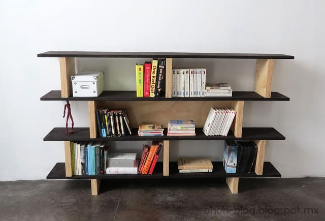 projects white ana diy kentwood bookshelf bookcase plans