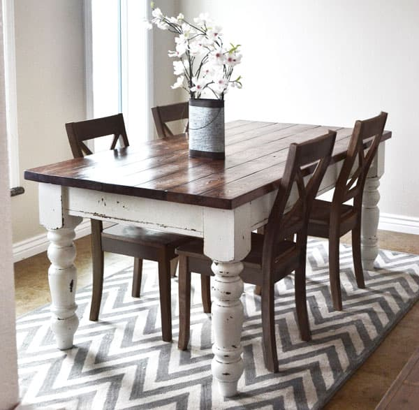 Husky Farmhouse Table