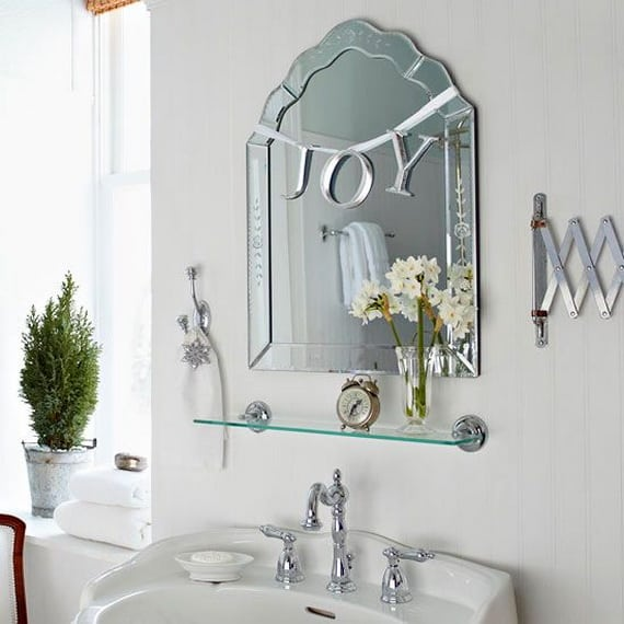1.Hang Joy Sign From The Mirror