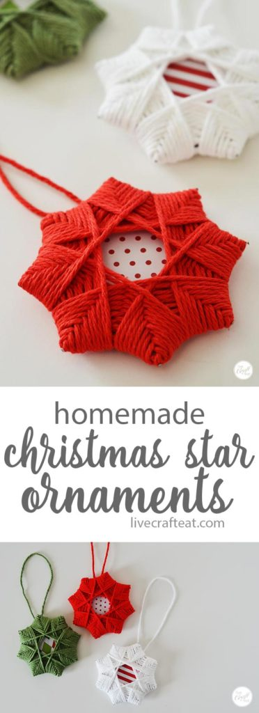 10. Extremely Cool Homemade Christmas Star Ornaments