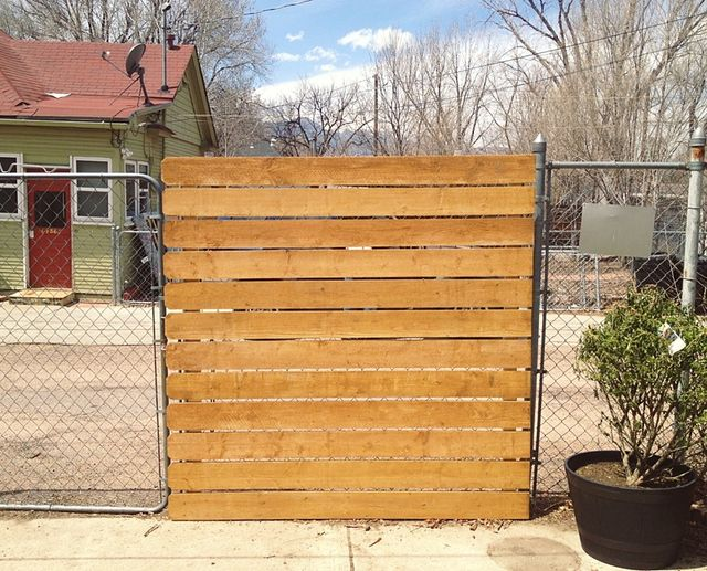 DRESS UP YOUR EXISTING CHAIN LINK FENCE