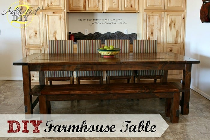 THE GIGANTIC FARMHOUSE TABLE