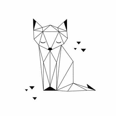 47. DREAMY GEOMETRIC KITTEN