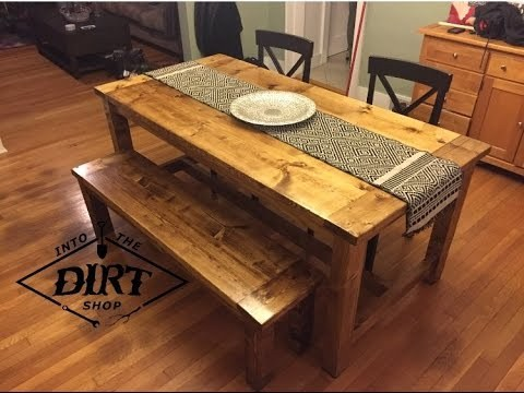 THE SIMPLE DIY FARM TABLE