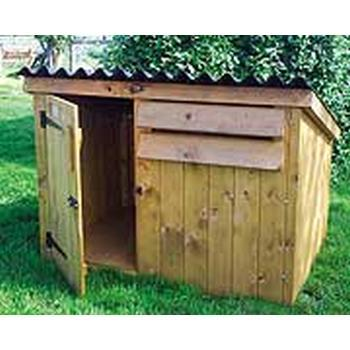THE SIMPLE DUCK AND GOOSE HOUSE