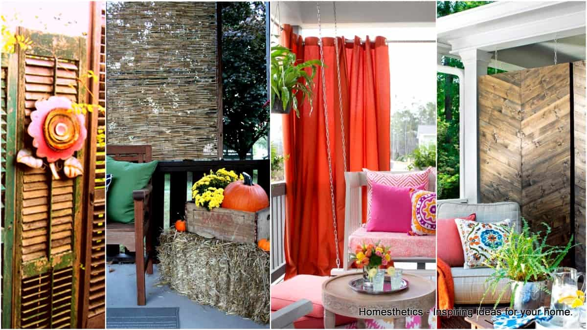 19 Amazing Outdoor Privacy Screens That You Will Love