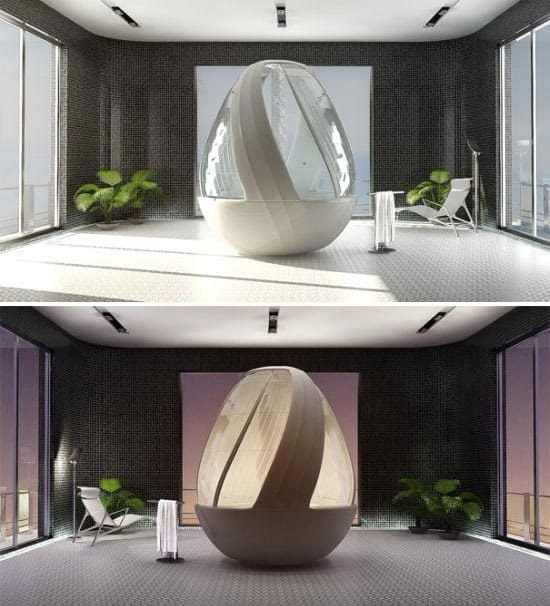 THE BRILLIANT ROCA COCOON SHOWER BY ARINA KOMAROVA