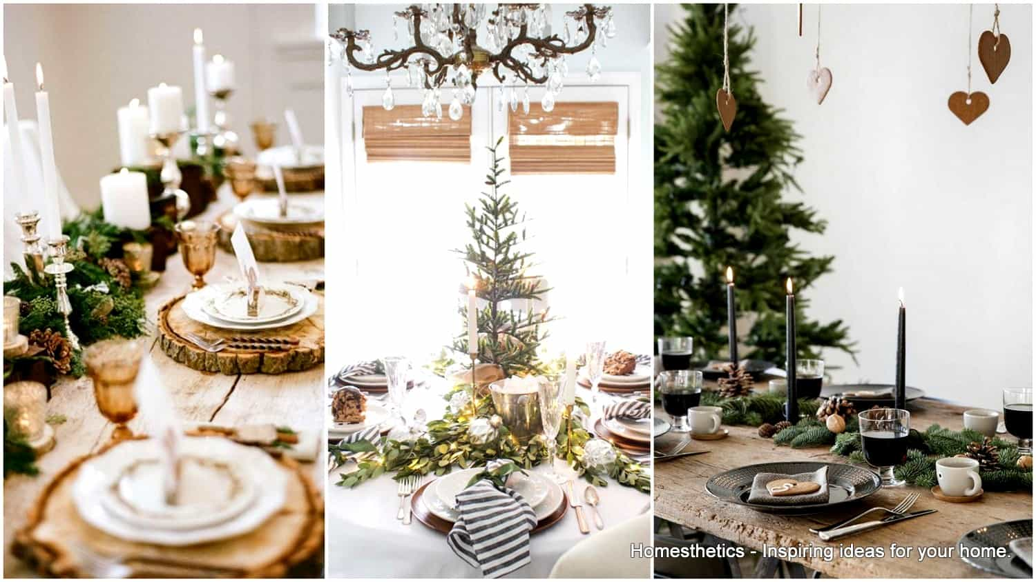 20 Wonderful Christmas Dinner Table Settings For Merry Holidays ...